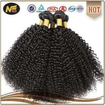3 Bundles/lot 300g Unprocessed Virgin Peruvian Kinky curly Human Hair Extension