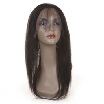 360 Lace Frontal Band Body Wave Natural Hairline With Baby Hair Virgin Peruvian