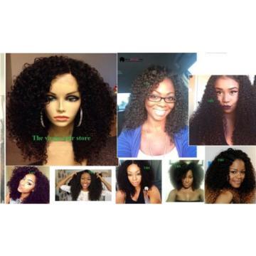 "7A 100% Virgin-Brazilian-Peruvian-Malaysian Kinky-Curly-Human-Hair 100g/10-24"""
