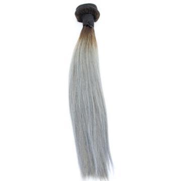 "12"" 100g Luxury Straight Peruvian Blonde Ombre 100% Virgin Human Hair Extensions"