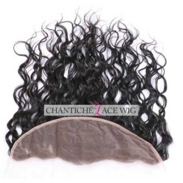 Virgin Human Hair Lace Frontal Closures Peruvian Remy Hair Extensions Water Wave