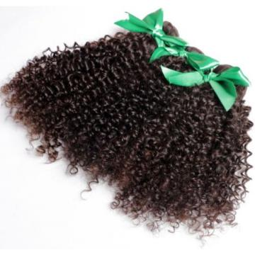 100% Real Malaysian/Brazilian/Peruvian Kinky Curly Virgin Human Hair Weave 1pac