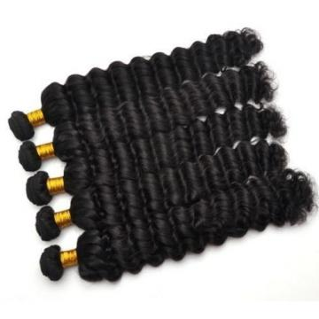 9A Peruvian Wave Bundles Human Virgin Hair Extensions Weave Weft 100g