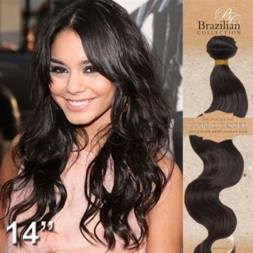 100% Pure Peruvian Virgin Remy Human Hair Extensions Wefts 7A Weave UNPROCESSED