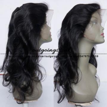 Peruvian Virgin Human Hair 360 Lace Frontal Closure Body Wave Full Lace Closures