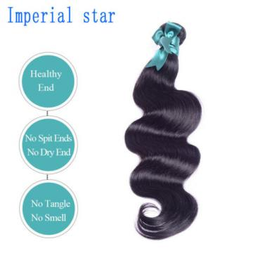 "20"" — Grade 8A Virgin Brazilian/Peruvian/Indian Human Hair Extensions Body Wave"