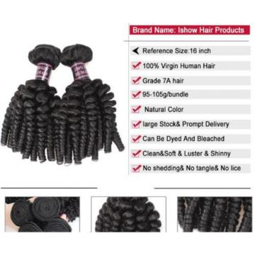 300g Afro Kinky Curly FUNMI Human Hair Extension 100% Virgin Peruvian Hair Weave