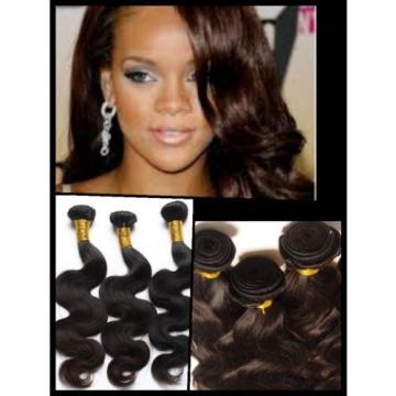 100% Virgin Peruvian Human Hair Wavy Extension Unprocessed weft Bundle 100g 6A