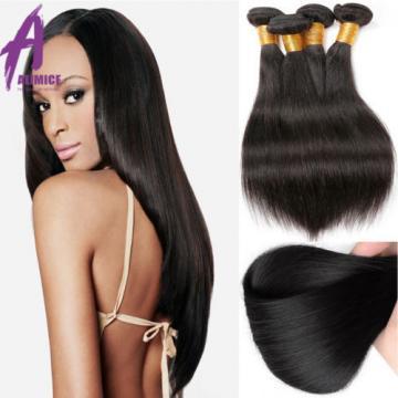 Brazilian Peruvian Indian Hair Human Hair Extensions bundles 300g 3 Bundles 8A