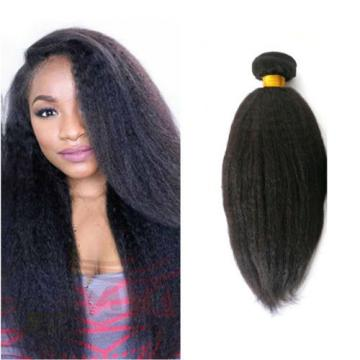 1 PC 100% Unprocessed Virgin Peruvian Italian Yaki Human Hair Extensions 100g/pc