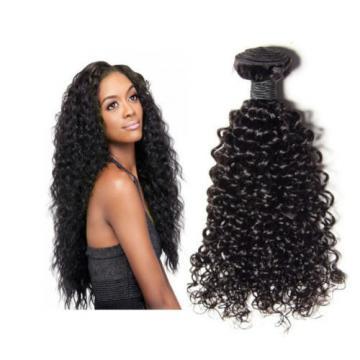 "100% 8A Virgin-Brazilian-Peruvian-Malaysian Kinky-Curly-Human-Hair 100g 10""-28"""