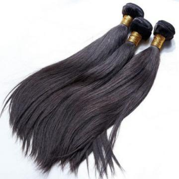 Grade 9A Peruvian Virgin Human Hair Weave (3 Bundle) unprocessed 14 16 18 inch