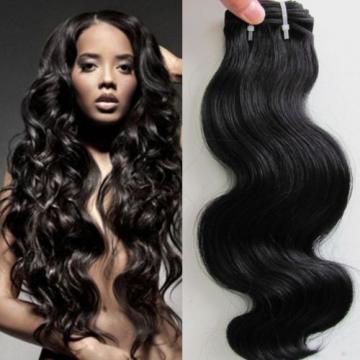 300g Thick 3 Bundles 7A Brazilian Peruvian 100% Unprocessed Virgin Human Hair