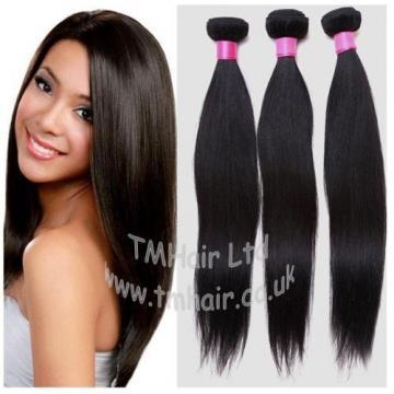 100% BRAZILIAN/PERUVIAN Virgin Human Remy Natural Weft Hair Extensions