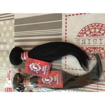 8A Virgin Peruvian hair, Straight Human Hair Bundles 4 Packs 400g.
