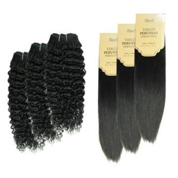 Unprocessed 105g Brazilian PERUVIAN 100% Human Hair Virgin Hair Extension