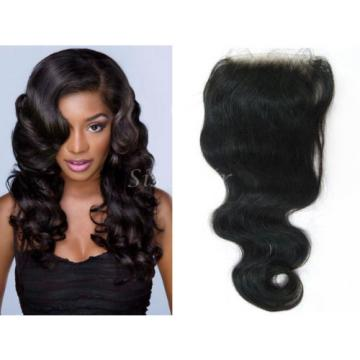 UK Stock 7A Peruvian Virgin Remy Human Hair 4X4 Lace Top Closure