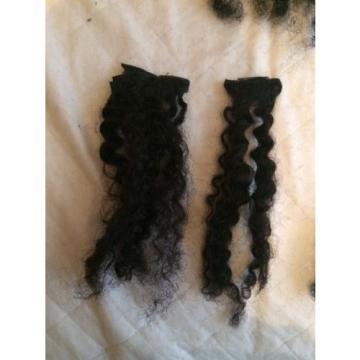 100% Virgin Brazilian Peruvian Malaysian Curly Human Hair Clip In Extensions