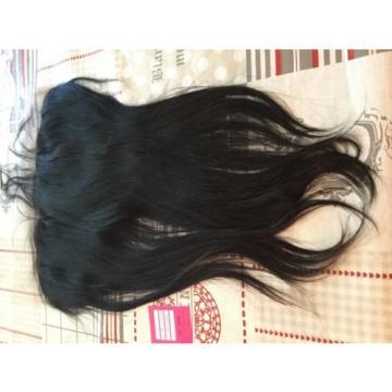 "16""  Peruvian Virgin Hair Lace Frontal. 13x6 Natural Black."