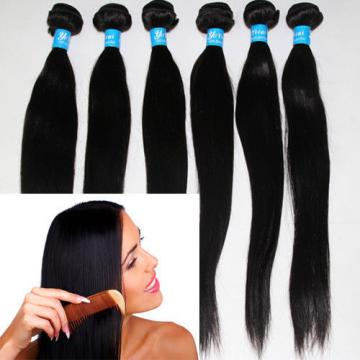 100%PERUVIAN VIRGIN HUMAN HAIR  NATURAL COLOUR 3/4BUNDLES,9AAA SAME DAY DISPATCH