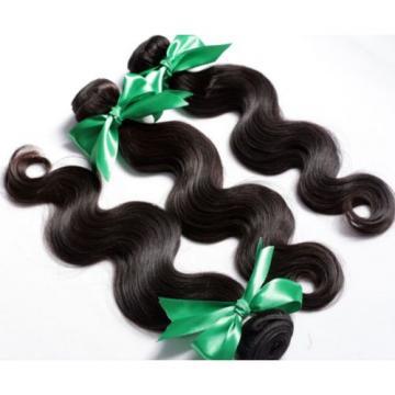 100% Real Malaysian/Brazilian/Peruvian Body Wave Virgin Human Hair Weave 100g