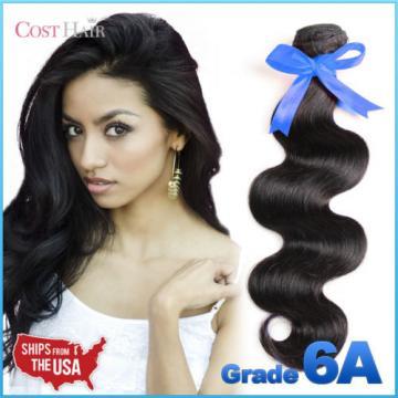 [Grade 6A] 1 Bundle/ 100g Unprocessed 100% Peruvian Virgin Human Hair Body Wave