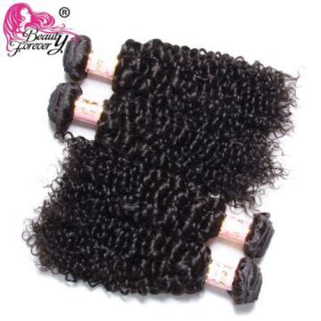 7A Brazilian/Malaysian/Peruvian curly Virgin hair 1/3 Bundles Human Hair Weaves
