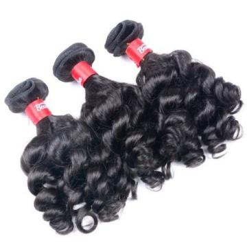 Luxury Kinky Deep Curly Peruvian Virgin Human Hair Extensions 7A Weave Weft