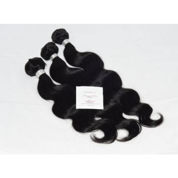 "Human Hair Direct 100% Virgin Peruvian Body Wave 3-pack 14"", 16"", 18"" 300g Tot"