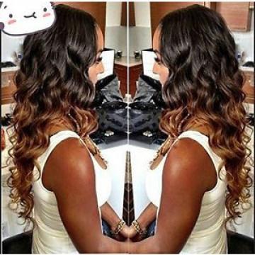 Wigsforyou Ombre Human Hair Weave 1b/33 Peruvian Virgin Hair Loose Wave 1Pcs