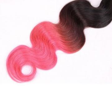Luxury Peruvian Pink Ombre Body Wave Virgin Human Hair Extensions