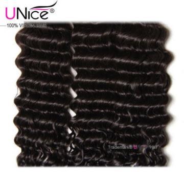 Peruvian Deep Wave Human Hair 3 Bundles 100% Curly Virgin Human Hair Extensions