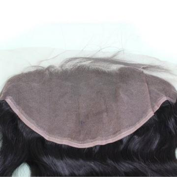 "Dreambeauty 7A Peruvian Virgin Hair Body Wave Lace Frontal Closure 13""×6"" Knots"