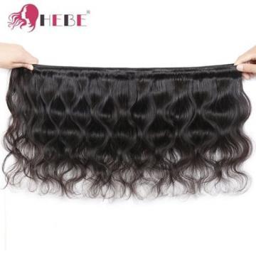 HEBE Peruvian Virgin Hair Bundles 14 16 18 Inches Peruvian Body Wave 100% Human