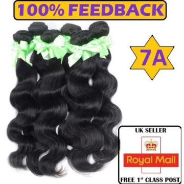 7A Peruvian 100 grams Virgin Body Wave Remy 100% Human Weft Hair Extensions UK