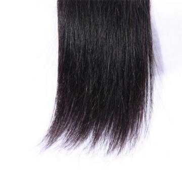 "1B HIGH QUALITY VIRGIN PERUVIAN STRAIGHT HUMAN HAIR WEAVE 20"""