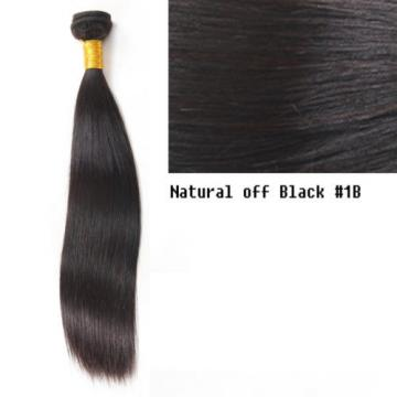 1bundle-100g STRAIGHT Unprocessed Real human hair Indian Brazilian Malay Peru 7A
