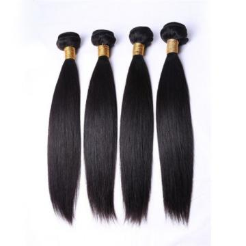 1B HIGH QUALITY VIRGIN PERUVIAN STRAIGHT HUMAN HAIR WEAVE 16""