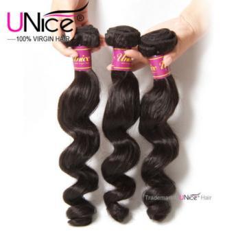 Peruvian Loose Wave Virgin Hair 4 Bundles 8A Soft Wet Wavy Human Hair Extensions