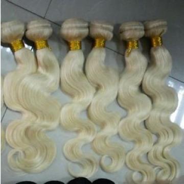 100g(1pc) Peruvian Virgin Human Hair blonde 613 bodywaves ,6A
