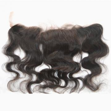 100% Virgin Peruvian Human Hair Lace Frontal Closure 2''X13'' 7A