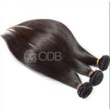 "1¥r9    Luxury Silky Straight Peruvian Dark Brown Virgin Hair Extensions 16"""