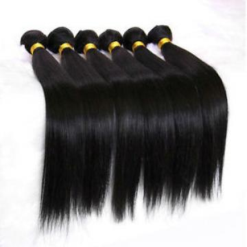 Luxury Silky Straight Peruvian Virgin Human Hair Extensions 7A Weave Weft