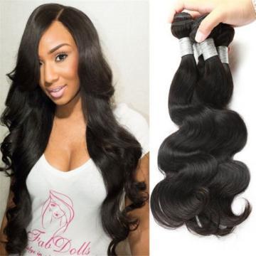 CZ Hair Peruvian Body Wave Virgin Hair 4 Bundles Grade 7A Unprocessed Virgin 14