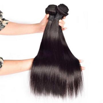 Angel Hair 3 Bundles Virgin Peruvian Straight Hair; Sew In Raw Unprocessed Weft