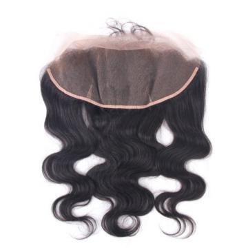 Top 7A 3 Bundles Peruvian Virgin Hair Body Wave with 13X4 Ear to Ear Closure