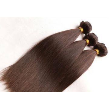 Luxury Silky Straight Peruvian Dark Brown #2 Virgin Human Hair Extensions