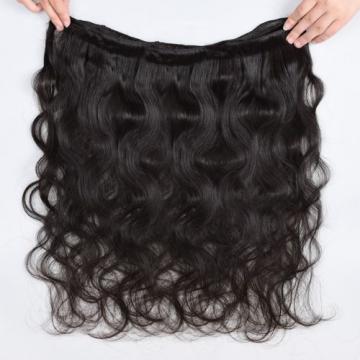 "8A Virgin Brazilian/Peruvian Human Hair Extensions 18""x4 Bundles/400g Body Wave"
