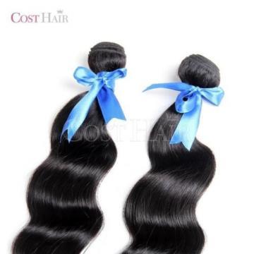 [Grade 6A] 2PC Bundle - 100% Peruvian Virgin Human Hair Super Body Weaving