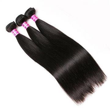 Aphro Hair Peruvian Straight Human Hair Extension 7A Grade Unprocessed Virgin 3